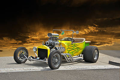 1923 Ford Roadster Pick Up 2 Art Print by Dave Koontz
