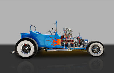 1923 Ford T-bucket       Art Print