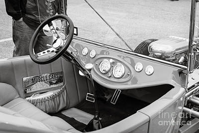 Photograph - 1923 Ford T Bucket Streetrod Antique Vintage Photograph Fine Art Prints Collectables 3087.01 by M K  Miller