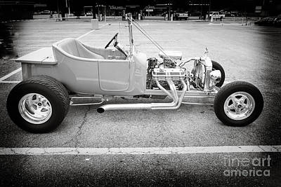 Photograph - 1923 Ford T Bucket Streetrod Antique Vintage Photograph Fine Art Prints Collectables 3085.01 by M K  Miller