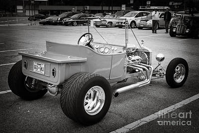 Photograph - 1923 Ford T Bucket Streetrod Antique Vintage Photograph Fine Art Prints Collectables 3086.01 by M K  Miller