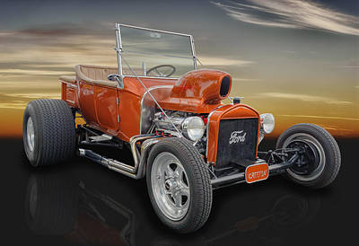 1923 Ford T-bucket - The Munsters Art Print