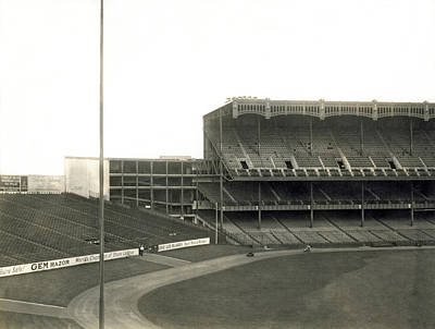Yankee Stadium Photograph - 1923 Yankee Stadium by Underwood Archives
