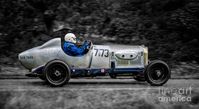 Steering Digital Art - 1924 Bentley by Adrian Evans