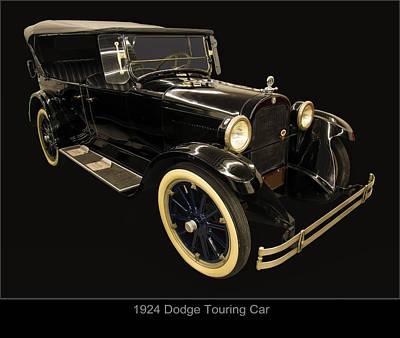 Digital Art - 1924 Dodge Brothers 4 Door Touring Car by Chris Flees
