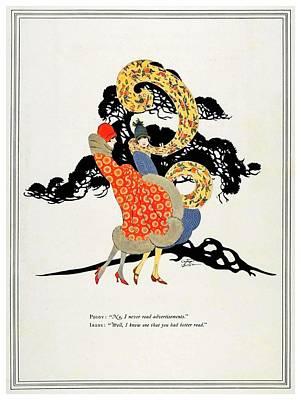 Listerine Digital Art - 1925 - Listerine Advertisement - Color by John Madison