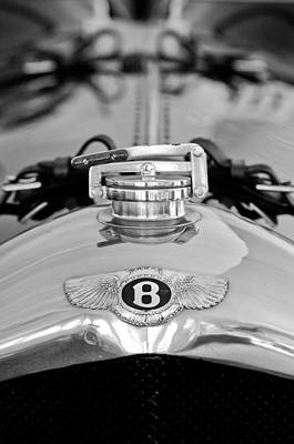 Photograph - 1925 Bentley Hood Ornament by Jill Reger