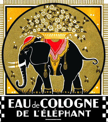 Painting - 1925 Cologne De L'elephant  by Historic Image