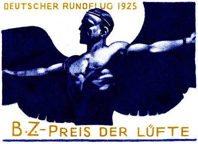 Painting - 1925 German Air Show by Historic Image