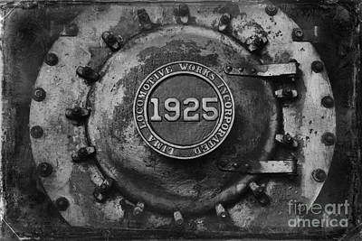 1925 Locomotive Train Engine Art Print