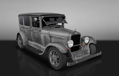 Photograph - 1925 Nash Four Door Sedan by Frank J Benz