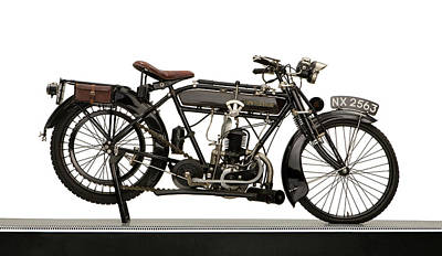 Lightweight Photograph - 1925 New Hudson 247cc Lightweight by Panoramic Images