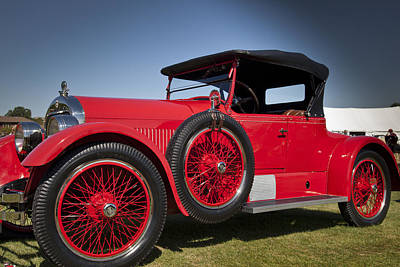 Photograph - 1925 Stutz Model 693 by Jack R Perry