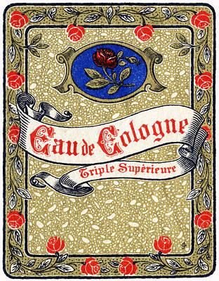 Painting - 1925 Superior Eau De Cologne Perfume by Historic Image