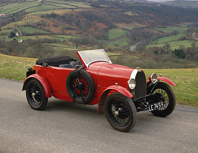 Historic Car Photograph - 1926 Bugatti Type 40 1.5 Litre Grand by Panoramic Images