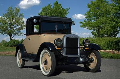 Photograph - 1926 Chevrolet Landau Coupe by Tim McCullough