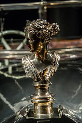 Photograph - 1926 Daimler Hood Ornament by Roger Mullenhour