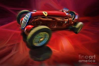 Photograph - 1926 Delage Grand Prix Car  Alfa-romeo  by Blake Richards