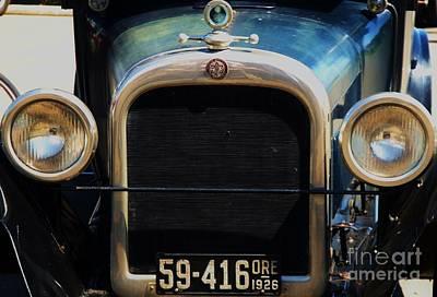 Magen David Photograph - 1926 Dodge In Astoria Oregon by Marcus Dagan