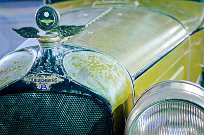 Photograph - 1926 Duesenberg Hood Ornament - Motometer by Jill Reger
