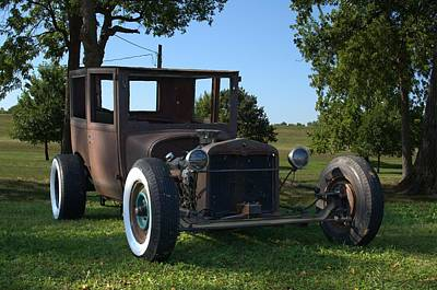 Photograph - 1922 Dodge Brothers Sedan Rat Rod by Tim McCullough