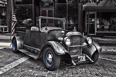 Photograph - 1926 Studebaker Pickup Truck Hot Rod by Tim McCullough