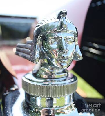 Photograph - 1926 Stutz Bearcat Hood Ornament by John Telfer