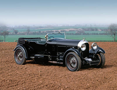 1927 Bentley 6.5 Litre 4-seat Tourer Art Print by Panoramic Images