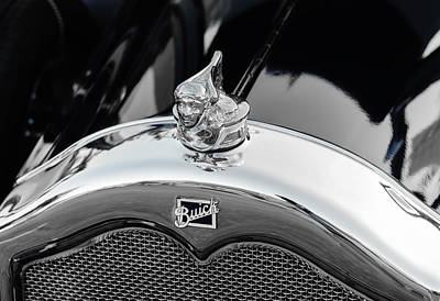 Photograph - 1927 Buick Hood Ornament by Frank J Benz