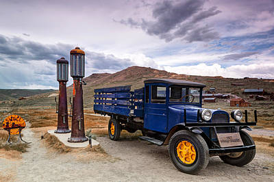 Town Lake Park Photograph - 1927 Dodge Graham @ Bodie by Chris Frost