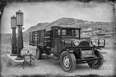 Photograph - 1927 Dodge by Terry Ellis