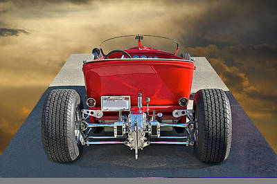 1927 Ford 'lakester' IIi Art Print by Dave Koontz