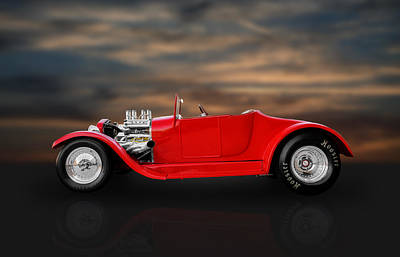 1927 Ford Roadster Photograph - 1927 Ford Roadster Kit Car by Frank J Benz
