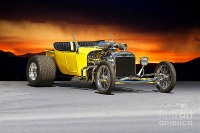 1927 Ford 't Bucket' Art Print by Dave Koontz