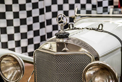 Photograph - 1927 Mercedes Benz Sportwagen by Boris Mordukhayev