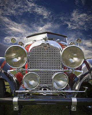 Photograph - 1928 Auburn Model 8-88 Speedster by Jack R Perry