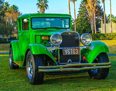 Street Rod Mixed Media - 1928 Dodge by Dennis Dugan