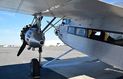 Ford Trimotor Photograph - 1928 Ford 5-at-b Tri-motor by Matt Abrams