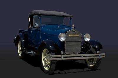 Photograph - 1928 Ford Model A Pickup Truck by Tim McCullough