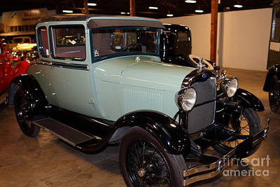 Photograph - 1928 Ford Model A Special Edition Coupe 5d25586 by Wingsdomain Art and Photography