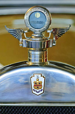 1928 Pierce-arrow Hood Ornament Art Print by Jill Reger