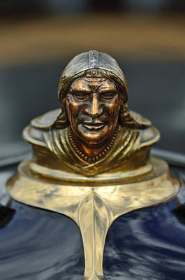Photograph - 1928 Pontiac Hood Ornament  by Jill Reger