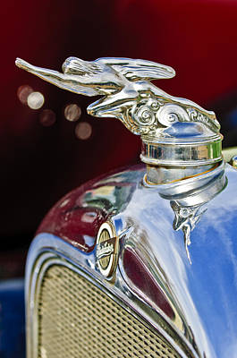 1928 Studebaker Hood Ornament 2 Art Print by Jill Reger
