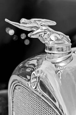 Photograph - 1928 Studebaker Hood Ornament 3 by Jill Reger