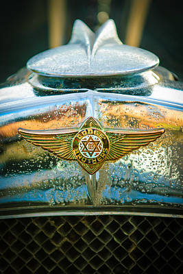 Photograph - 1929 Dodge Brothers Emblem -0264 by Jill Reger