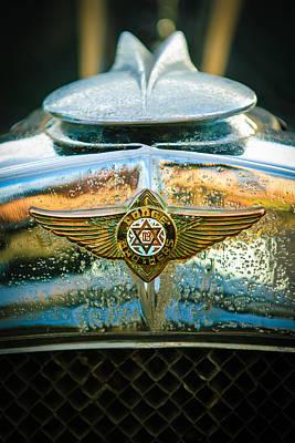 Photograph - 1929 Dodge Sedan Hood Emblem 2 by Jill Reger