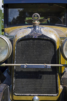 Photograph - 1929 Duesenberg Model J Convertible - Barn Fresh by Jack R Perry