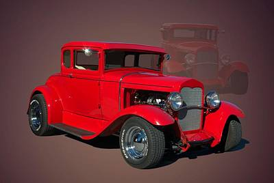 Photograph - 1929 Ford Hot Rod by TeeMack