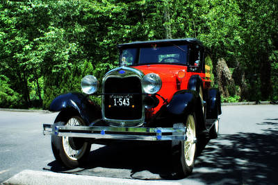 Photograph - 1929 Ford by John Winner