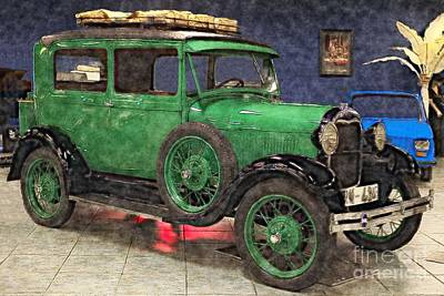 Photograph - 1929 Ford Model A by Liane Wright